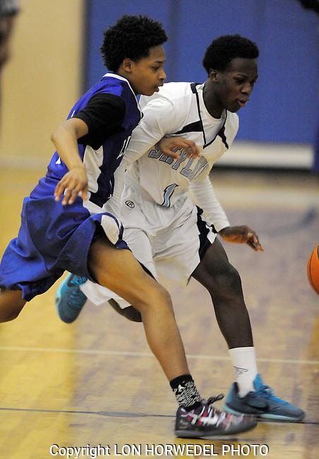 Skyline High School vs Lincoln High School boy's freshman basketball at Skyline, Tuesday, March 3, 2015.