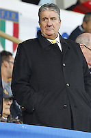 Firenze 24/11/2012 ..Rugby test match Stadio Franchi Italia vs Australia ..Nella foto il neo Presidente della Federazione Alfredo Gavazzi..Photo Matteo Ciambelli / Insidefoto