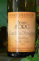 grand cru pfersigberg riesling vieille vigne 2001 dom bruno sorg eguisheim alsace france