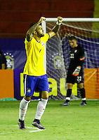 RECIFE,PE,11.11.2015 -BRASIL-ESTADOS UNIDOS- Gol de Gabriel do Brasil durante partida contra Estados Unidos em jogo amistoso de preparação para olímpiada 2016, na Ilha do Retiro, nesta quarta-feira,11. (Foto: Jean Nunes/Brazil Photo Press)