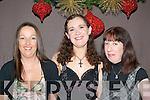 ENJOYING: Susan Cusack, Maureen Dullea and Paula O'Driscoll, Killarney, enjoying New Year's Eve in the Plaza Hotel, Killarney.   Copyright Kerry's Eye 2008