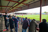 Picture by Allan McKenzie/SWpix.com - 22/04/2018 - Rugby League - Ladbrokes Challenge Cup - York City Knight v Catalans Dragons - Bootham Crescent, York, England - York fans, supporters, gv, general view.