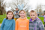 Enjoying the Meadowlands Tralee & Tralee Chamber Alliance Easter Kids Fancy Dress Fun Run at Tralee Town Park on Saturday were Lucy O'Brien, Lilly Prior and Emily May Burgin