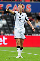 George Byers of Swansea City during the Sky Bet Championship match between Swansea City and Reading at the Liberty Stadium, Swansea, Wales, UK. Saturday 28 September 2019