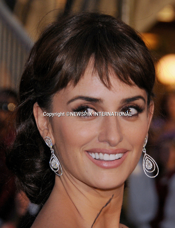 "PENELOPE CRUZ.attends World Premiere of ""Pirates of the Caribbean: On Stranger Tides"" held at Disneyland Anaheim, California_07/05/2011. This was her first official outing since the bith of her son.Mandatory Photo Credit: ©Crosby/Newspix International..**ALL FEES PAYABLE TO: ""NEWSPIX INTERNATIONAL""**..PHOTO CREDIT MANDATORY!!: NEWSPIX INTERNATIONAL(Failure to credit will incur a surcharge of 100% of reproduction fees)..IMMEDIATE CONFIRMATION OF USAGE REQUIRED:.Newspix International, 31 Chinnery Hill, Bishop's Stortford, ENGLAND CM23 3PS.Tel:+441279 324672  ; Fax: +441279656877.Mobile:  0777568 1153.e-mail: info@newspixinternational.co.uk"