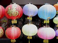 Paper lanterns, Stanley Market, Hong Kong