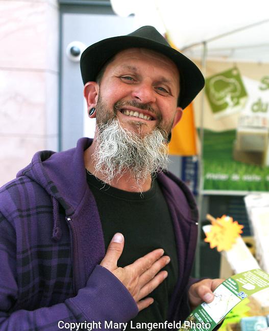 French Market Farmer