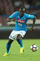 Kalidou Koulibaly Napoli<br /> Napoli 27-08-2017  Stadio San Paolo <br /> Football Campionato Serie A 2017/2018 <br /> Napoli - Atalanta<br /> Foto Cesare Purini / Insidefoto