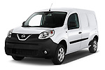 2020 Nissan NV250 Visia 5 Door Car Van Angular Front automotive stock photos of front three quarter view