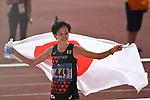 Keiko Nogami (JPN), <br /> AUGUST 26, 2018 - Athletics - Marathon : Women's Marathon at Gelora Bung Karno Main Stadium during the 2018 Jakarta Palembang Asian Games in Jakarta, Indonesia. <br /> (Photo by MATSUO.K/AFLO SPORT)