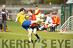 Action from Park FC v Killorglin in the qtr final of the Greyhound Bar KO Cup on Sunday.