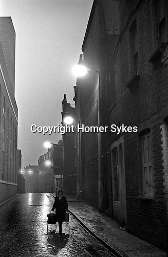 Whitechapel east London 1970s UK.