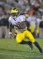 Michigan QB Denard 'Shoelace' Robinson
