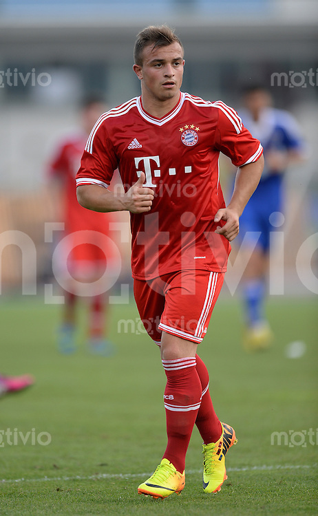 FUSSBALL  1. Bundesliga   2013/2014   Testspiel  FC Bayern Muenchen - Brescia Calcio      09.07.2013 Xherdan Shaqiri (FC Bayern Muenchen)