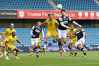 Tom Bradshaw of Millwall goes close during Millwall vs Swansea City, Sky Bet EFL Championship Football at The Den on 30th June 2020