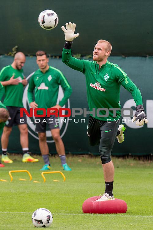 04.08.2016, Trainingsgelaende, Bremen, GER, 1.FBL, Training Werder Bremen<br /> <br /> im Bild<br /> Tom Pachulski (Werder U23), <br /> <br /> Foto &copy; nordphoto / Ewert