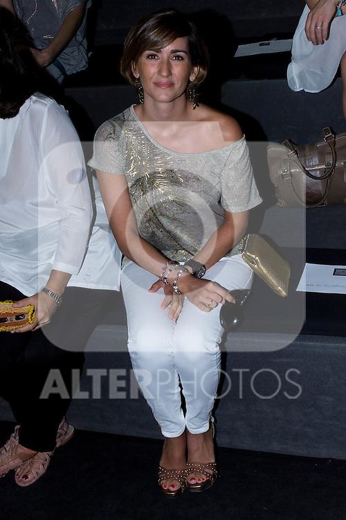 02.09.2012. Celebrities attending the Roberto Torretta fashion show during the Mercedes-Benz Fashion Week Madrid Spring/Summer 2013 at Ifema. In the image Alejandra Martos (Alterphotos/Marta Gonzalez)