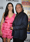 "HOLLYWOOD, CA. - June 23: Lymari Nadal and Edward James Olmos arrive at Broadway LA Presents: ""In The Heights"" - Opening Night at the Pantages Theatre on June 23, 2010 in Hollywood, California.."