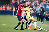 Roberto Torres (medium; CA Osasuna) during the Spanish <br /> la League soccer match between CA Osasuna and CD Lugo at Sadar stadium, in Pamplona, Spain, on Saturday, <br /> April 28, 2018.