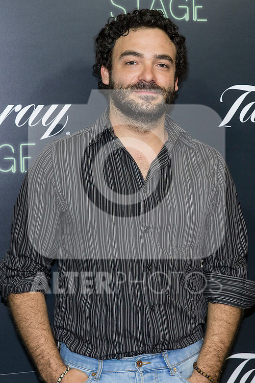 "Cristian Vazquez during the premiere of ""Los tragos de la vida"" directed by Daniel Guzman at Infanta Isable theatre in Madrid. October 05, 2016. (ALTERPHOTOS/Rodrigo Jimenez)"