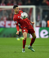FUSSBALL CHAMPIONS LEAGUE  SAISON 2015/2016 ACHTELFINALE RUECKSPIEL FC Bayern Muenchen  - Juventus Turin      16.03.2016 Robert Lewandowski (FC Bayern Muenchen)