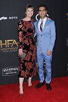 05 November  2017 - Beverly Hills, California - Emily Gordon, Kumail Nanjiani. The 21st Annual &quot;Hollywood Film Awards&quot; held at The Beverly Hilton Hotel in Beverly Hills. <br /> CAP/ADM/BT<br /> &copy;BT/ADM/Capital Pictures