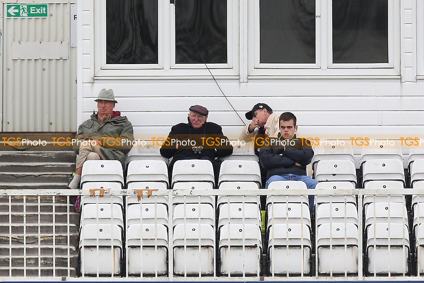 Day Two was not well attended - Essex CCC vs Kent CCC - Pre-Season Friendly Cricket Match at the Essex County Ground, Chelmsford - 04/04/14 - MANDATORY CREDIT: Gavin Ellis/TGSPHOTO - Self billing applies where appropriate - 0845 094 6026 - contact@tgsphoto.co.uk - NO UNPAID USE