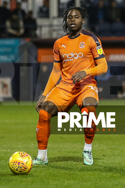 Pelly Ruddock of Luton Town during the Sky Bet League 1 match between Luton Town and Bradford City at Kenilworth Road, Luton, England on 27 November 2018. Photo by David Horn.