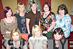 GIRLS NIGHT OUT: Enjoying Women's Christmas in The Imperial Hotel on Sunday night were seated l-r: Tracy Sheehan, Denise and Mary Shanahan. Standing l-r: Kim, Breda and Vicki Shanahan, Laura and Eileen Kelliher.   Copyright Kerry's Eye 2008