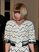 Anna Wintour arrives for the State Dinner in honor of President Hu Jintao of China at the White House In Washington, D.C. on Wednesday, January 19, 2011. .Credit: Ron Sachs / CNP.(RESTRICTION: NO New York or New Jersey Newspapers or newspapers within a 75 mile radius of New York City)