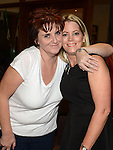 Caroline Smith and Emer Connolly at the White Collar Boxing in City North Hotel. Photo:Colin Bell/pressphotos.ie