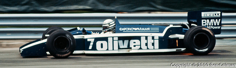 Riccardo Patrese, MRD BT55, Detroit 1986