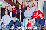 Killarney Fire brigade enjoyed their well earned Christmas party in the Killarney Avenue Hotel on Monday night front row l-r: Brendan Connors, Mark Brady, Marian O'Donoghue, Timmy McGillycuddy. Back row: Conor O'Connor, Anthony Breen, Michael O'Shea, Neil Horgan, John O'Grady, Connie Kelly, Paudie Mangan, Martin Mangan, Pat Fleming