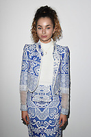Ella Eyre<br /> at the Bora Aksu AW17 show as part of London Fashion Week AW17 at 180 Strand, London.<br /> <br /> <br /> ©Ash Knotek  D3230  17/02/2017