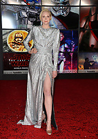 Gwendoline Christie at the world premiere for &quot;Star Wars: The Last Jedi&quot; at the Shrine Auditorium. Los Angeles, USA 09 December  2017<br /> Picture: Paul Smith/Featureflash/SilverHub 0208 004 5359 sales@silverhubmedia.com