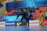 Chonburi Blue Wave vs Al Quadsia during the 2014 AFC Futsal Club Championship Group Stage B match on August 25, 2014 at the Shuangliu Sports Centre in Chengdu, China. Photo by World Sport Group