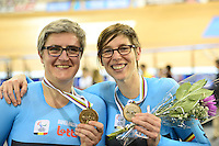 Picture by Simon Wilkinson/SWpix.com - 02/03/2017 - Cycling 2017 UCI Para-Cycling Track World Championships, Los Angeles USA - Podium <br />