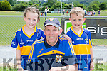 Michelle, timmy and David Myers enjoying the Cordal jamboree festival on Sunday