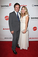 HOLLYWOOD, CA - SEPTEMBER 30: Michael Traynor, Brooke Nevin, at The 6th Annual Saving Innocence Gala at Loews Hollywood Hotel, California on September 30, 2017. Credit: Faye Sadou/MediaPunch