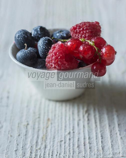 Gastronomie Générale/ Groseilles, Cassis, Framboises  //  Currant Cassis, Raspberry