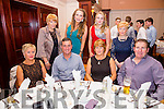 Attending the South & Mid Kerry Rowing Social in the Ring of Kerry Hotel on Saturday were front l-r; Jackie Philips, Alaun Philips, Susan O'Neill, Eddie O'Neill, back l-r; Ann Riordan, Róisín Galvin, Shannon O'Neill & Delores O'Shea.