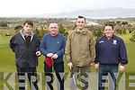 Pat Sheehan, Derry Fitzgerald, Declan Reggett and Eamon Lawlor Ardfert enjoying a round in Killorglin Golf club Saturday morning..