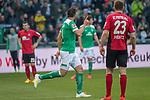 13.04.2019, Weser Stadion, Bremen, GER, 1.FBL, Werder Bremen vs SC Freiburg, <br /> <br /> DFL REGULATIONS PROHIBIT ANY USE OF PHOTOGRAPHS AS IMAGE SEQUENCES AND/OR QUASI-VIDEO.<br /> <br />  im Bild<br /> <br /> Claudio Pizarro (Werder Bremen #04)<br /> <br /> Foto &copy; nordphoto / Kokenge