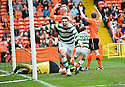 17/10/2010   Copyright  Pic : James Stewart.sct_jsp014_dundee_utd_v_celtic  .:: GARY HOOPER CELEBRATES AFTER HE SCORES CELTIC'S LATE WINNER :: .James Stewart Photography 19 Carronlea Drive, Falkirk. FK2 8DN      Vat Reg No. 607 6932 25.Telephone      : +44 (0)1324 570291 .Mobile              : +44 (0)7721 416997.E-mail  :  jim@jspa.co.uk.If you require further information then contact Jim Stewart on any of the numbers above.........