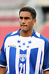 15 March 2008: Oscar Morales (HON). The United States U-23 Men's National Team defeated the Honduras U-23 Men's National Team 1-0 at Raymond James Stadium in Tampa, FL in a Group A game during the 2008 CONCACAF's Men's Olympic Qualifying Tournament.