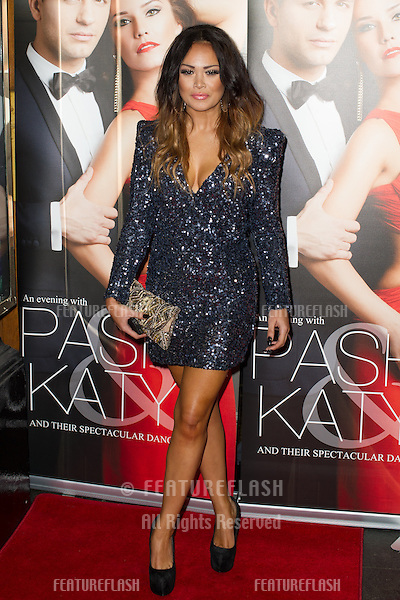 Zoe Birkett at the Katya and Pasha West End show - Gala night held at the Lyric Theatre, London. 07/04/2014 Picture by: Dave Norton / Featureflash