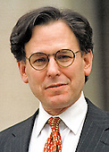 Sidney Blumenthal, White House advisor and former Washington Post reporter, who testified before the Grand Jury at United States District Court in the Monica Lewinsky case, leaves court in Washington, DC on February 24, 1998.<br /> Credit: Ron Sachs / CNP