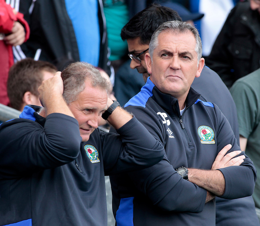 Blackburn Rovers manager Owen Coyle before kick off<br /> <br /> Photographer David Shipman/CameraSport<br /> <br /> Football - The EFL Sky Bet Championship - Blackburn Rovers v Burton Albion - Saturday 20 August 2016 - Ewood Park - Blackburn<br /> <br /> World Copyright &copy; 2016 CameraSport. All rights reserved. 43 Linden Ave. Countesthorpe. Leicester. England. LE8 5PG - Tel: +44 (0) 116 277 4147 - admin@camerasport.com - www.camerasport.com