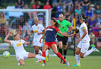Boyds, MD - Saturday Sept. 03, 2016: Katie Stengel, McCall Zerboni during a regular season National Women's Soccer League (NWSL) match between the Washington Spirit and the Western New York Flash at Maureen Hendricks Field, Maryland SoccerPlex.