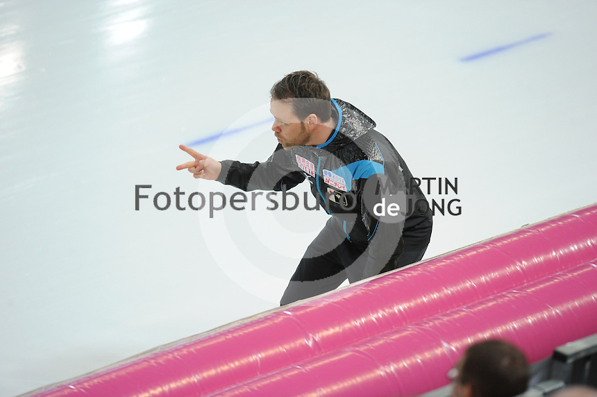 SPEED SKATING: HAMAR: Vikingskipet, 04-03-2017, ISU World Championship Allround, Johan de Wit (coach JPN), ©photo Martin de Jong